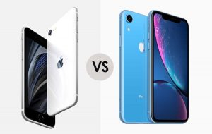 iPhone SE vs iPhone XR gizmopie.com